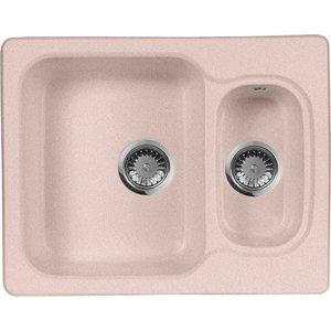 Кухонная мойка AquaGranitEx M-09 (315) розовый
