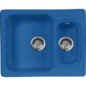 Кухонная мойка AquaGranitEx M-09 (323) синий gangxun синий m