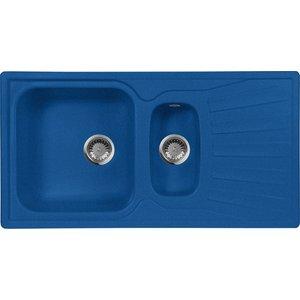 Кухонная мойка AquaGranitEx M-09K (323) синий