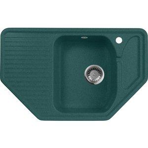 Кухонная мойка AquaGranitEx M-10 (305) зеленый