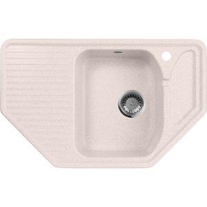 Кухонная мойка AquaGranitEx M-10 (311) светло-розовый цена 2017