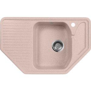 Кухонная мойка AquaGranitEx M-10 (315) розовый