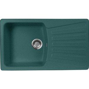 Кухонная мойка AquaGranitEx M-12 (305) зеленый кухонная мойка aquagranitex m 08 505х505 зеленый m 08 305