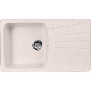 Кухонная мойка AquaGranitEx M-12 (311) светло-розовый цена 2017