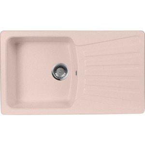 Кухонная мойка AquaGranitEx M-12 (315) розовый