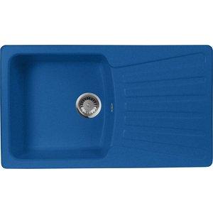 Кухонная мойка AquaGranitEx M-12 (323) синий