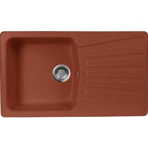 Кухонная мойка AquaGranitEx M-12 (334) красный марс кухонная мойка aquagranitex m 56 334 красный марс