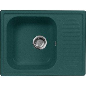 Кухонная мойка AquaGranitEx M-13 (305) зеленый