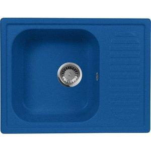 Кухонная мойка AquaGranitEx M-13 (323) синий