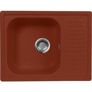 Кухонная мойка AquaGranitEx M-13 (334) красный марс
