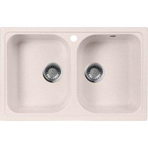 Кухонная мойка AquaGranitEx M-15 (311) светло-розовый