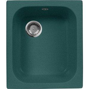 Кухонная мойка AquaGranitEx M-17 (305) зеленый