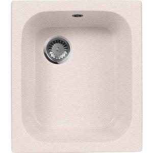 Кухонная мойка AquaGranitEx M-17 (311) светло-розовый цена 2017