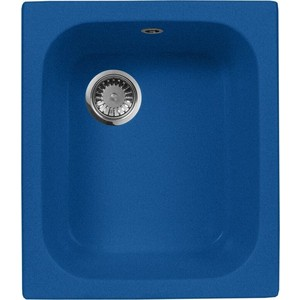 Кухонная мойка AquaGranitEx M-17 (323) синий точечный светильник donolux a1521 alu black
