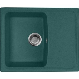 Кухонная мойка AquaGranitEx M-17K (305) зеленый