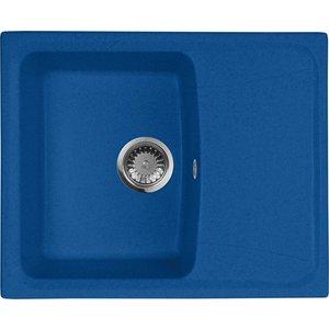 Кухонная мойка AquaGranitEx M-17K (323) синий