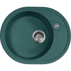 Кухонная мойка AquaGranitEx M-18L (305) зеленый