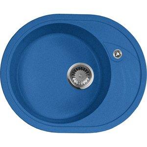 Кухонная мойка AquaGranitEx M-18L (323) синий