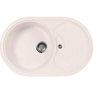 Кухонная мойка AquaGranitEx M-18S (311) светло-розовый