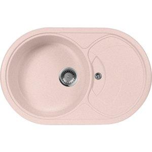 Кухонная мойка AquaGranitEx M-18S (315) розовый сабо женские patrol цвет розовый черный 138 322ik 18s 01 17 размер 40