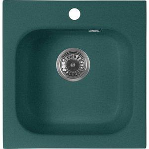 Кухонная мойка AquaGranitEx M-43 (305) зеленый