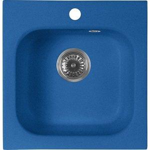 Кухонная мойка AquaGranitEx M-43 (323) синий