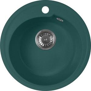 Кухонная мойка AquaGranitEx M-45 (305) зеленый