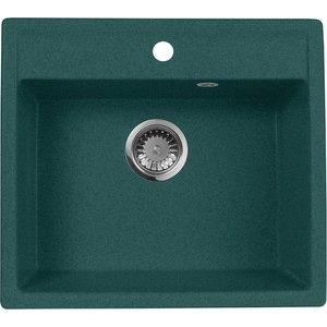 Кухонная мойка AquaGranitEx M-56 (305) зеленый