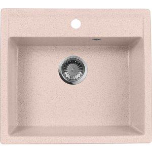 Кухонная мойка AquaGranitEx M-56 (315) розовый