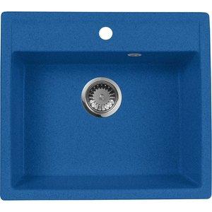Кухонная мойка AquaGranitEx M-56 (323) синий brotola синий цвет iphone 78