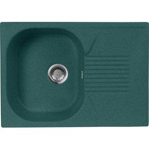 Кухонная мойка AquaGranitEx M-70 (305) зеленый