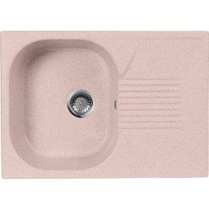 Кухонная мойка AquaGranitEx M-70 (315) розовый