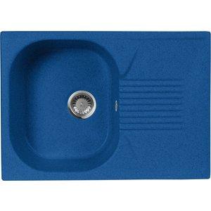 Кухонная мойка AquaGranitEx M-70 (323) синий цена