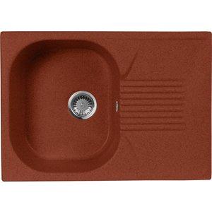 Кухонная мойка AquaGranitEx M-70 (334) красный марс цена и фото