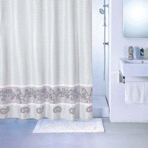Фото - Штора для ванной Milardo Fresco 180x200 см (SCMI012P) штора для ванной комнаты milardo checked fresco scmi020p
