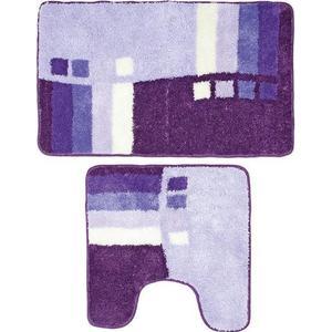 Коврики для ванной и туалета Milardo Meteora skies 50x80 50x50 см (490PA58M13)