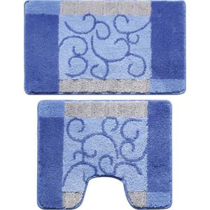 Коврики для ванной и туалета Milardo Fine Lace 50x80 50x50 см (350PA68M13)