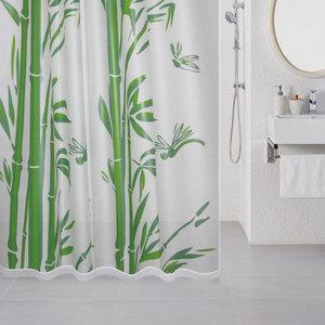 лучшая цена Штора для ванной Milardo Bamboo 180x180 см (510V180M11)