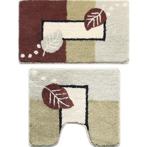Коврики для ванной и туалета Milardo Late Autumn 50x80 50x50 см (340PA68M13)