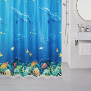 Штора для ванной Milardo Ocean Floor 180x180 см (520V180M11) штора для ванной комнаты milardo ocean floor 180 см х 180 см 520v180m11