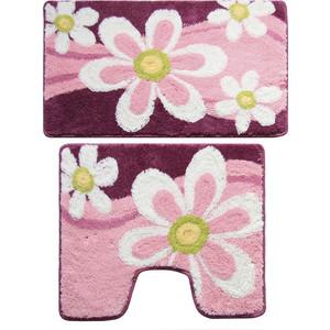 Коврики для ванной и туалета Milardo Merry Camomile 50x80 50x50 см (360PA68M13)
