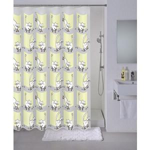 Штора для ванной Milardo Cozy cats 180x180 см (528V180M11)