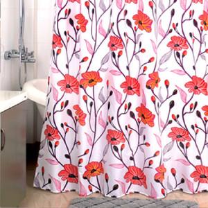 Фото - Штора для ванной Milardo Red Asters 180x200 см (960P180M11) штора для ванной milardo cheeky owls 180x180 см 530v180m11