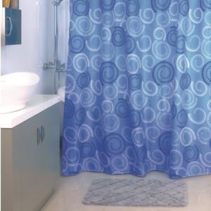 Штора для ванной Milardo Ultramarine Dots 180x200 см (900P180M11)