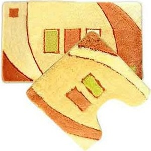 Коврики для ванной и туалета IDDIS Set Acrylic 50x80 50x50 см (MID090AS)