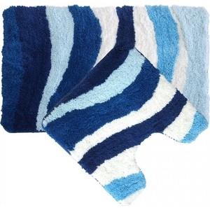 Коврики для ванной и туалета IDDIS Blue Wave 50x80 50x50 см (480M580i13)