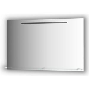 Зеркало с полкой Evoform Ledline-S со светильником 7 W 120x75 см (BY 2159)