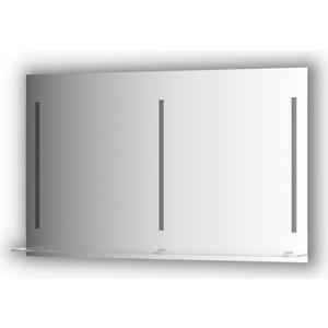 Зеркало с полкой Evoform Ledline-S 3-мя светильниками 16,5 W 120x75 см (BY 2168)