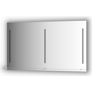 Зеркало с полкой Evoform Ledline-S 3-мя светильниками 16,5 W 130x75 см (BY 2169)