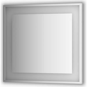 Зеркало в багетной раме поворотное Evoform Ledside со светильником 22 W 80x75 см (BY 2203)